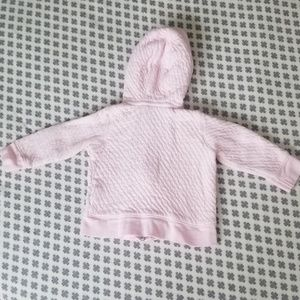 Burt's Bees Baby Jackets & Coats - Sweetest Pink Organic Cotton Infant Hoodie